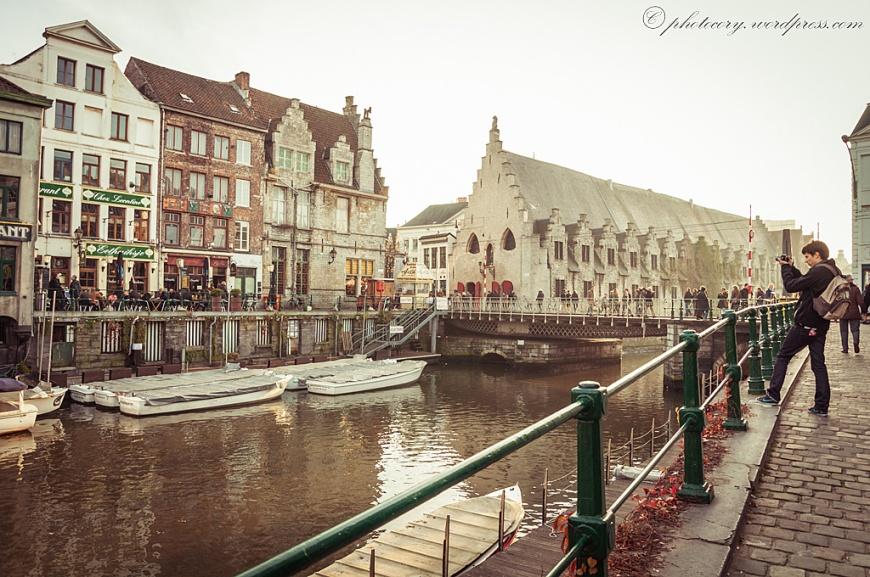 autumn in Ghent.