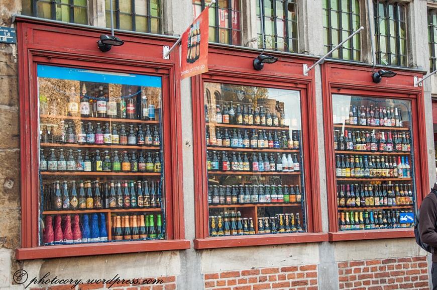 Lots of belgian beers.