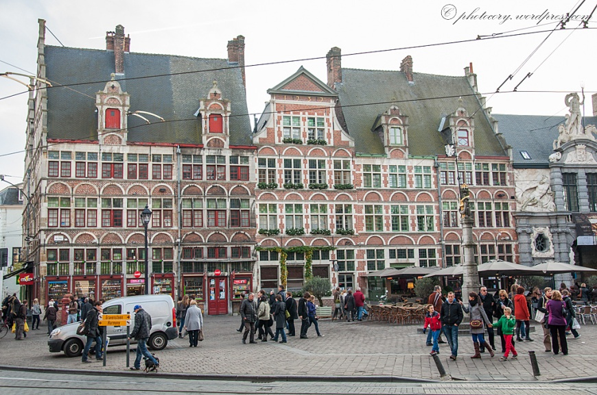 Typical belgian architecture