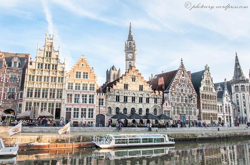more lovely architecture in Ghent.