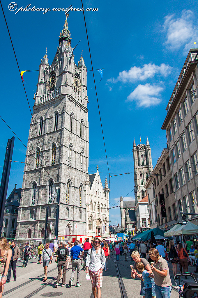 summer in Ghent can be a little crowded
