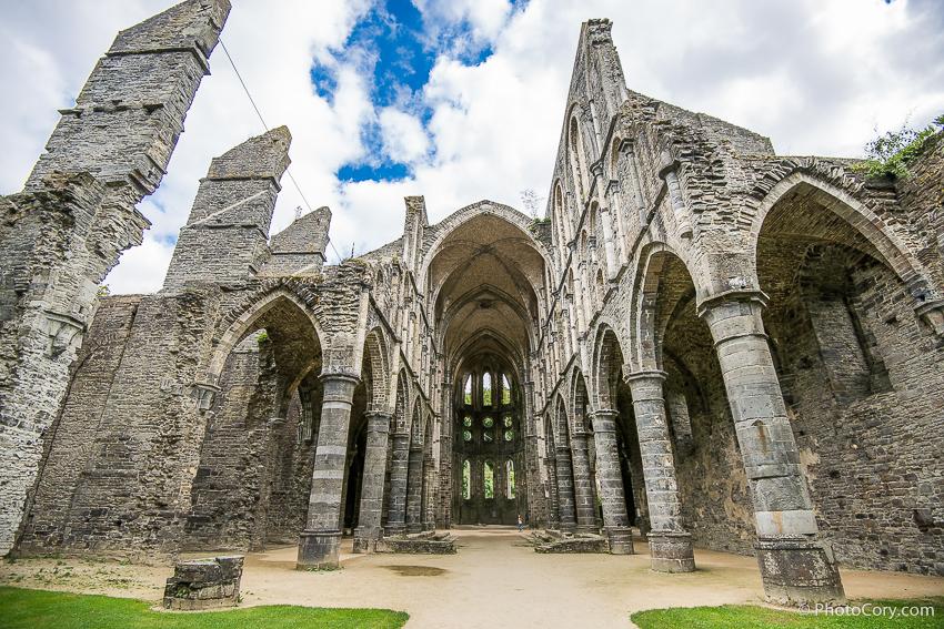 ruins abbaye villers la ville