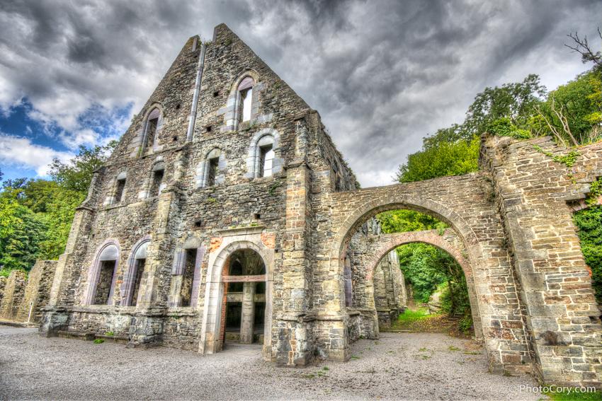 ruins villers la ville belgium