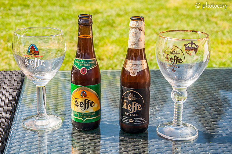Leffe beer: spring edition and Royale