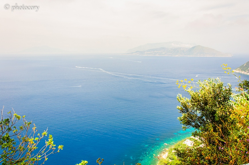 Blue Tyrrhenian Sea
