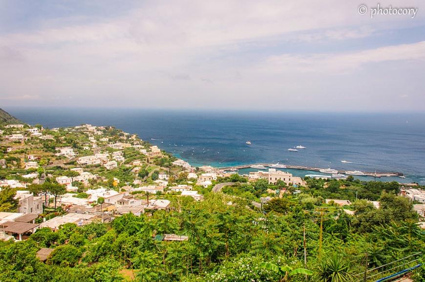 More view over Capri