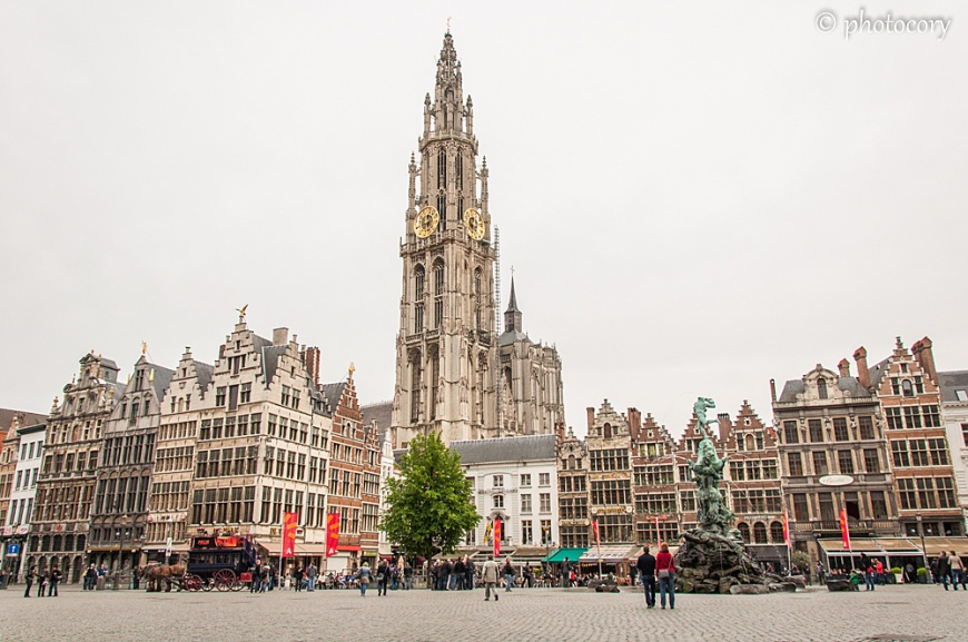 Cathedral of Our Lady in Antwerp
