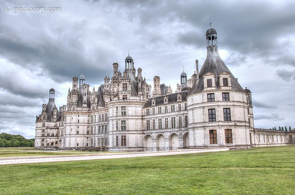 Château de Chambord - front view