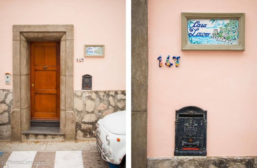 door details decoration positano italia