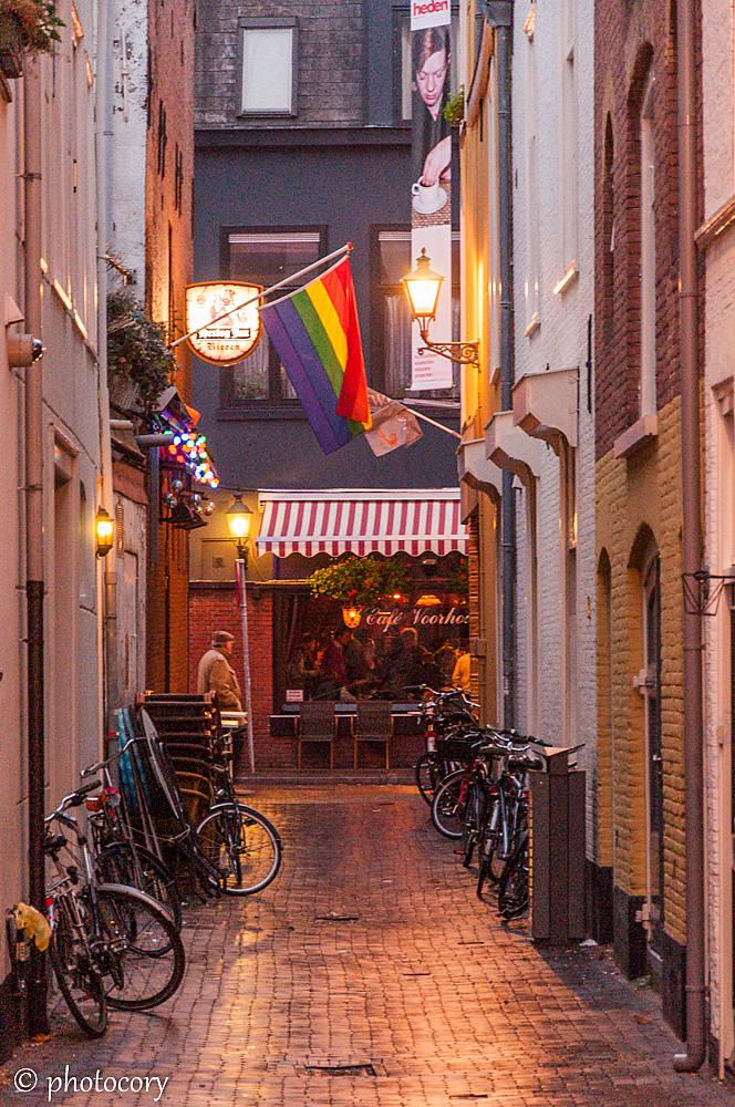 Very narrow street