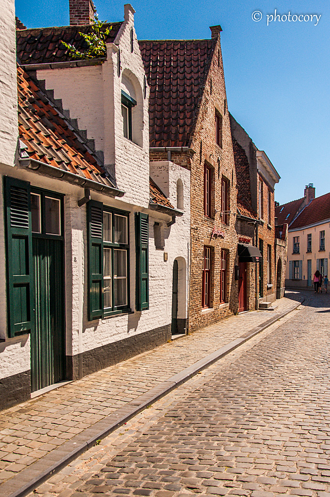 Quiet streets, away from tourist path