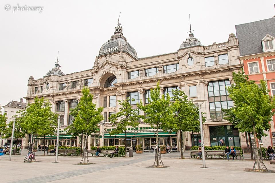 Hilton Hotel, nice building