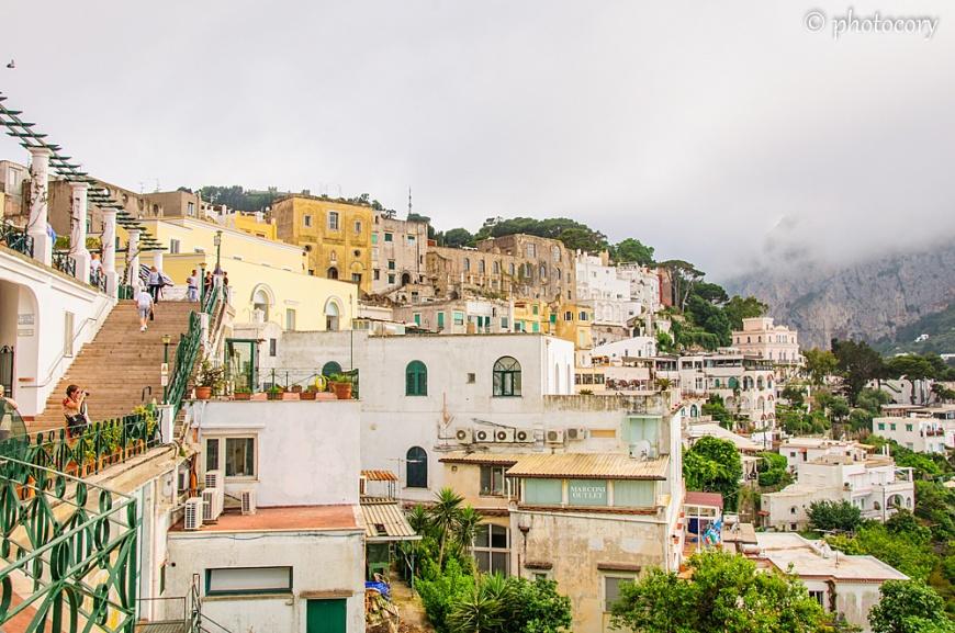 Houses in Capri