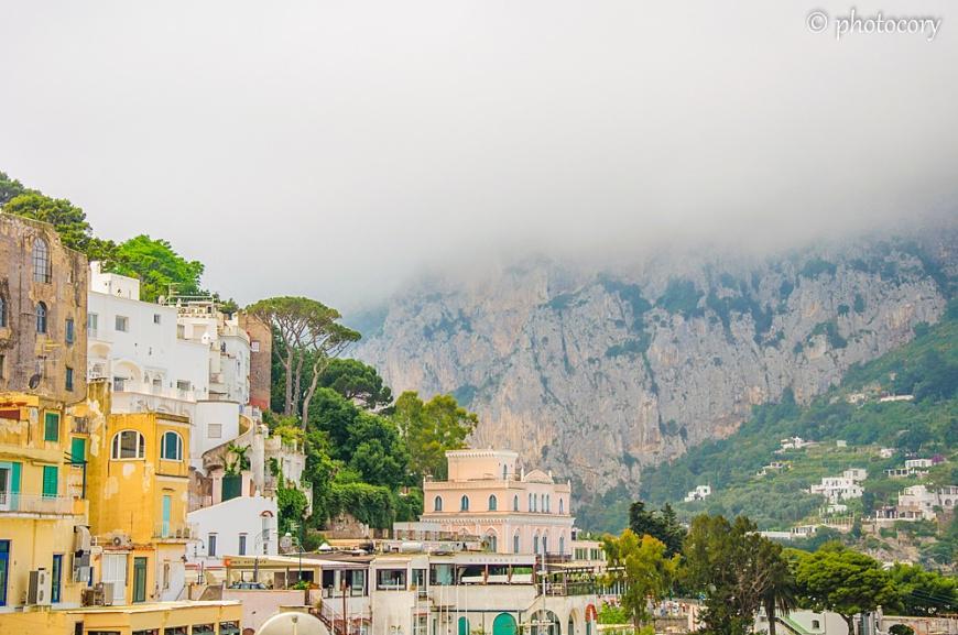 Clouds over Capri