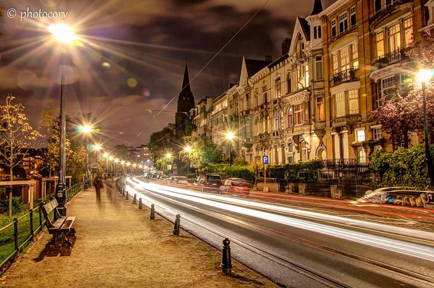 This is Ixelles neighbourhood, in Brussels, next to place Flagey.
