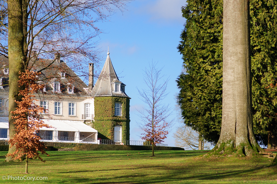 la hulpe castle near brussels