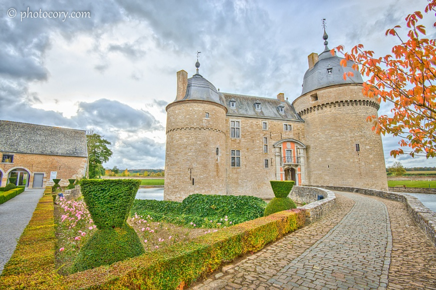 the beautiful castle