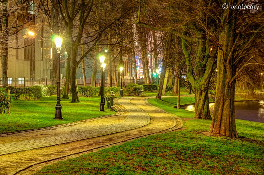 Leopold Park in Brussels