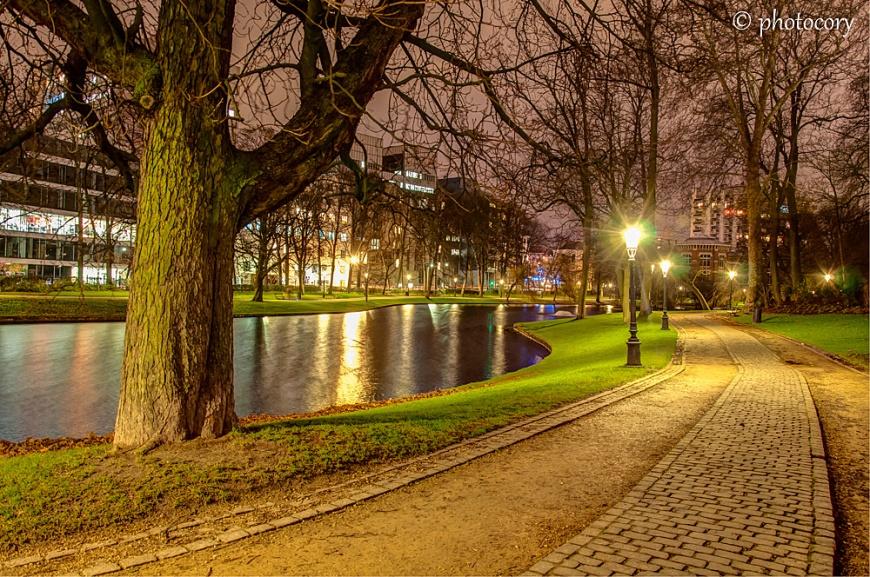 Leopold Park in Eterbeek, Brussels