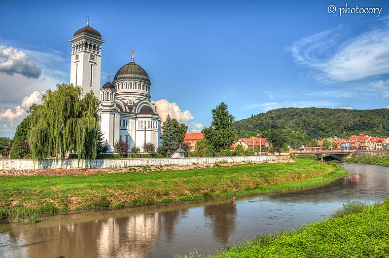 Ortodox trinity church in Sighisoara