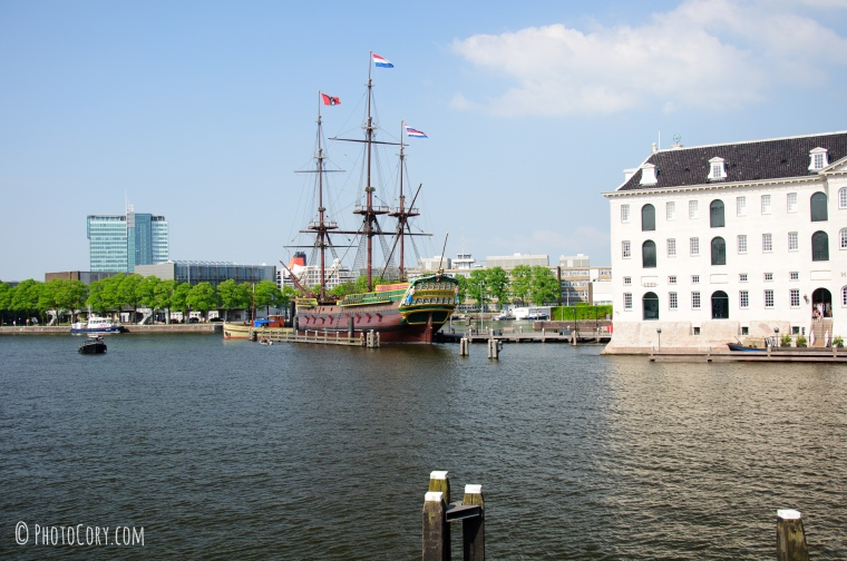 port ship amsterdam