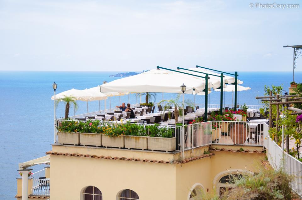 restaurant positano italia foto