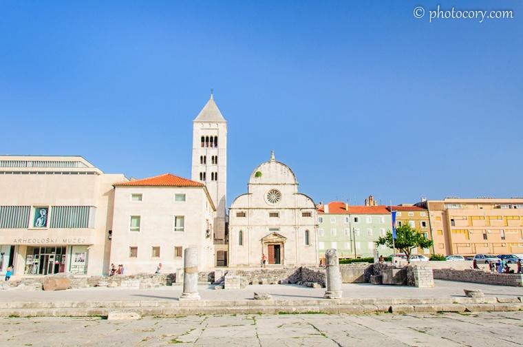 Ruins in Zadar