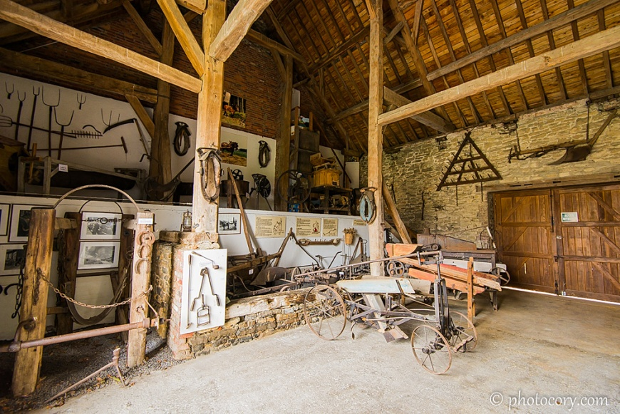 the stable at Lavaux-Sainte-Anne Castle