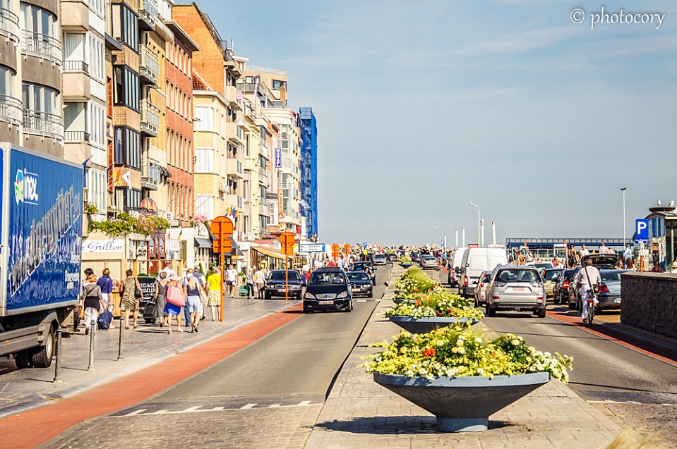 Street in Oostende