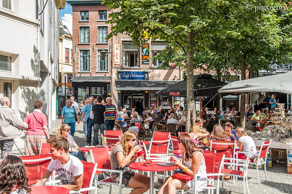Summertime in Antwerp is bursting with life