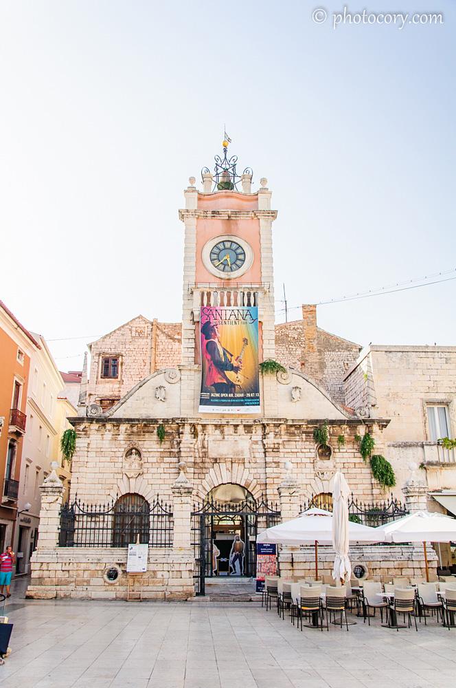 The old city in Zadar