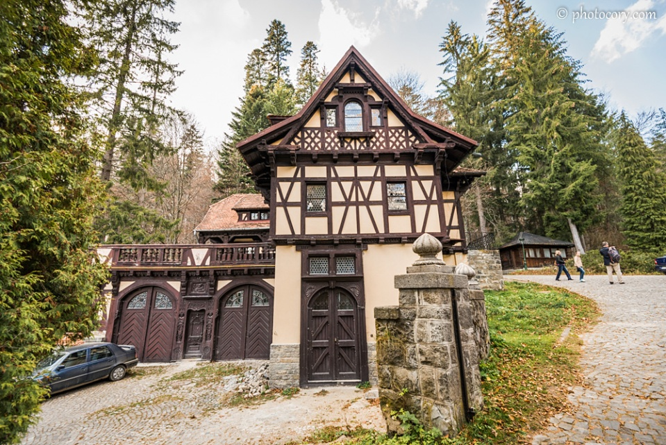 A small annexed building at Peles Castle