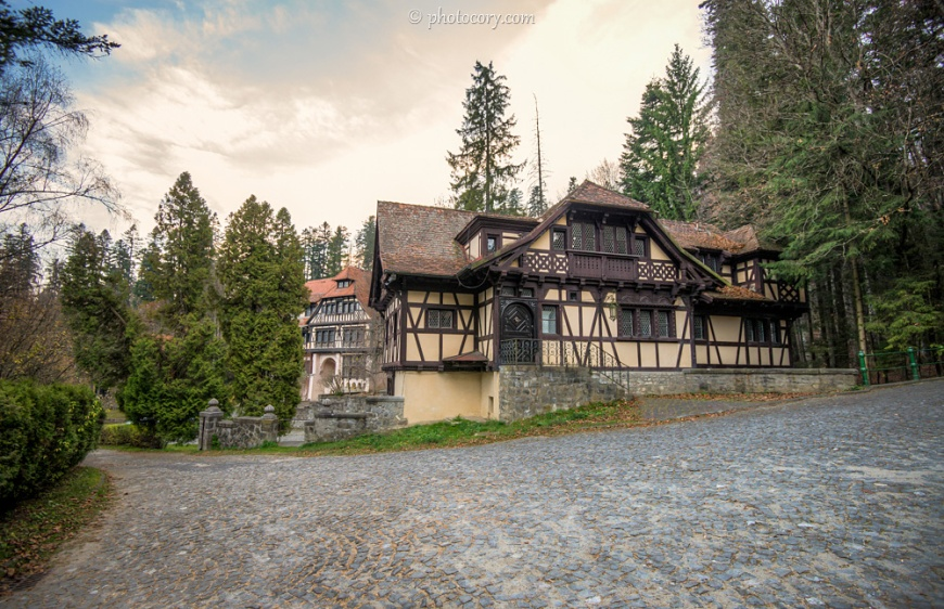 Annexed buildings of Peles Castle