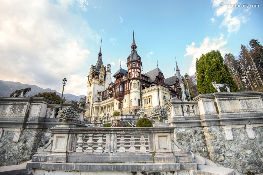 Peles Castle is indeed one of the most beautiful in the world