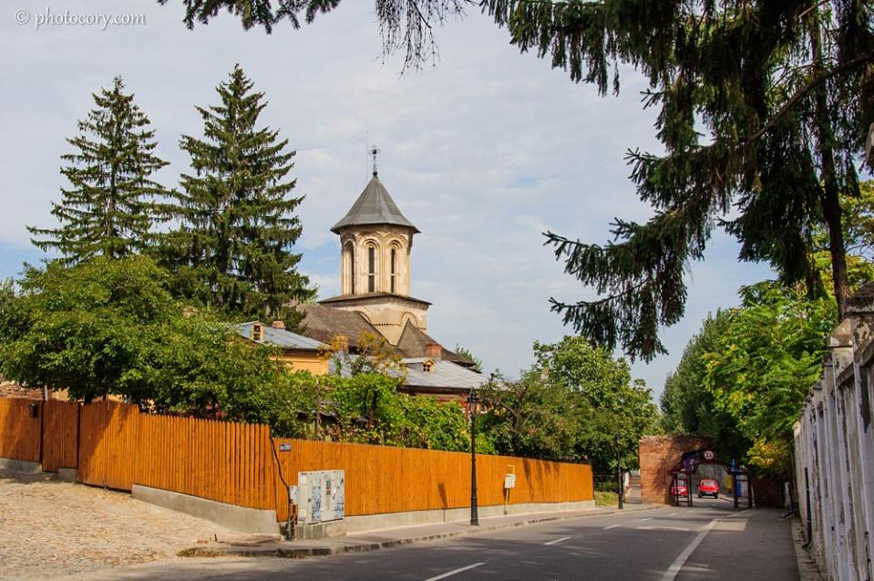 Saint Friday church towards Chindia Park