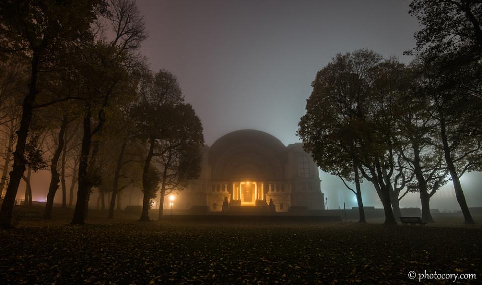 Cinquantenaire park belgium