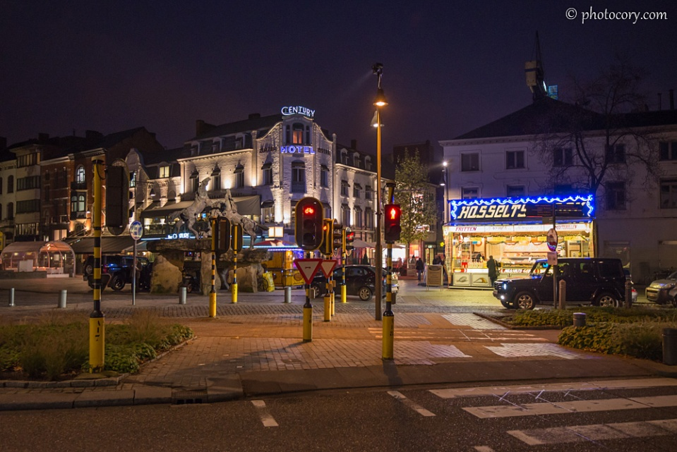 Evening in Hasselt