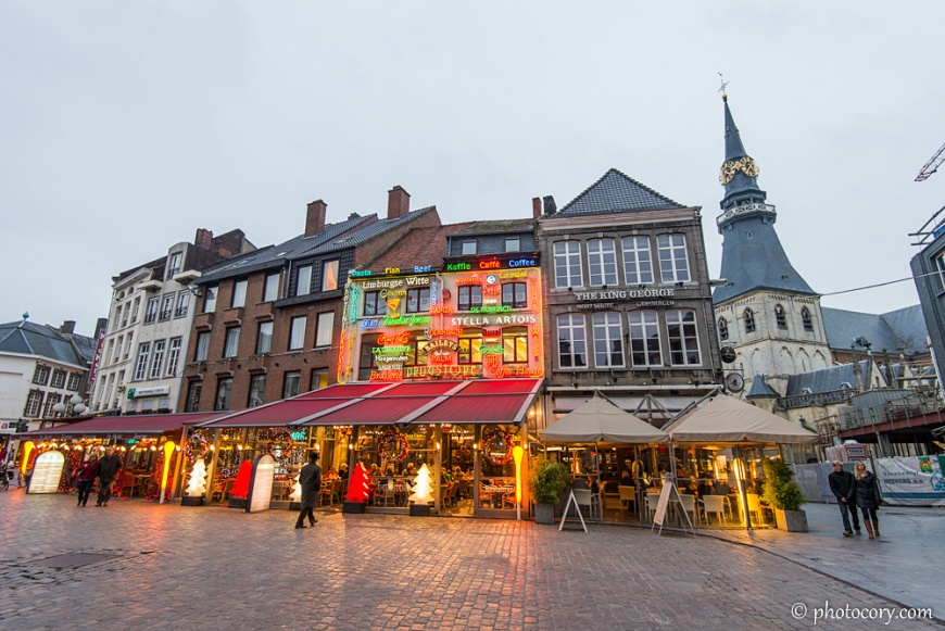 Restaurants and pubs in the Center of Hasselt