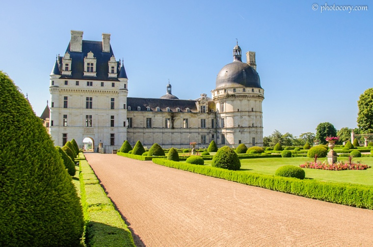 One of the most beautiful chateaux on Loire Valley: Valençay Castle