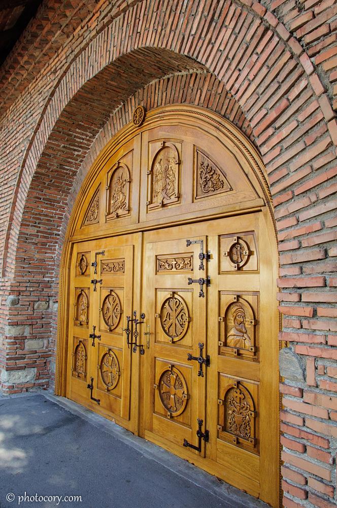 Nice gate at Stelea Monastery