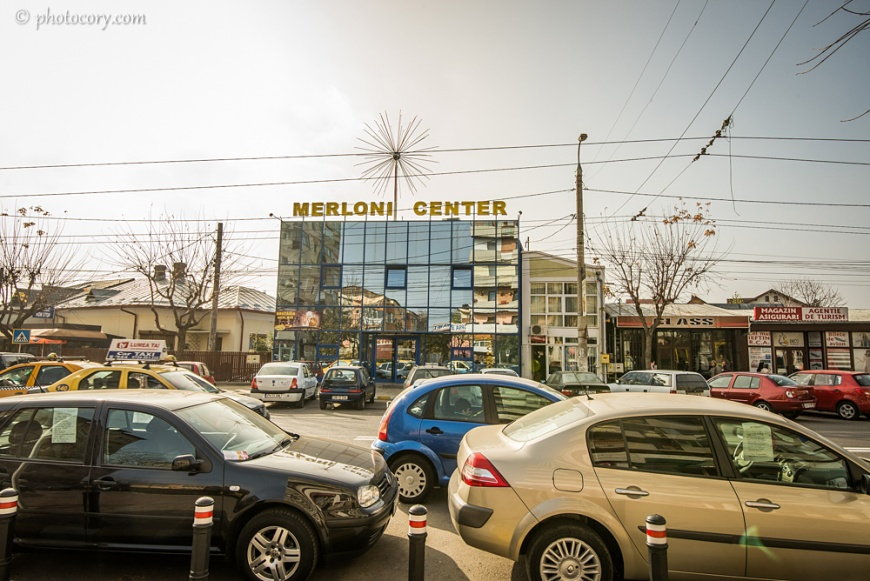 Merloni, s small shopping center in Targoviste