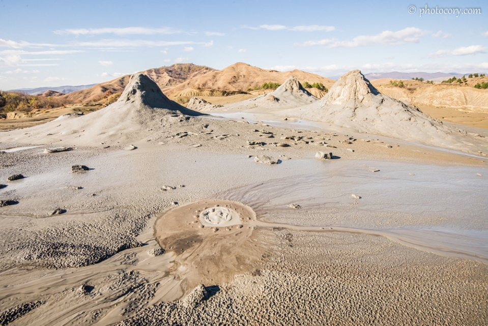 Mud Volcanoes at Paclele Mari