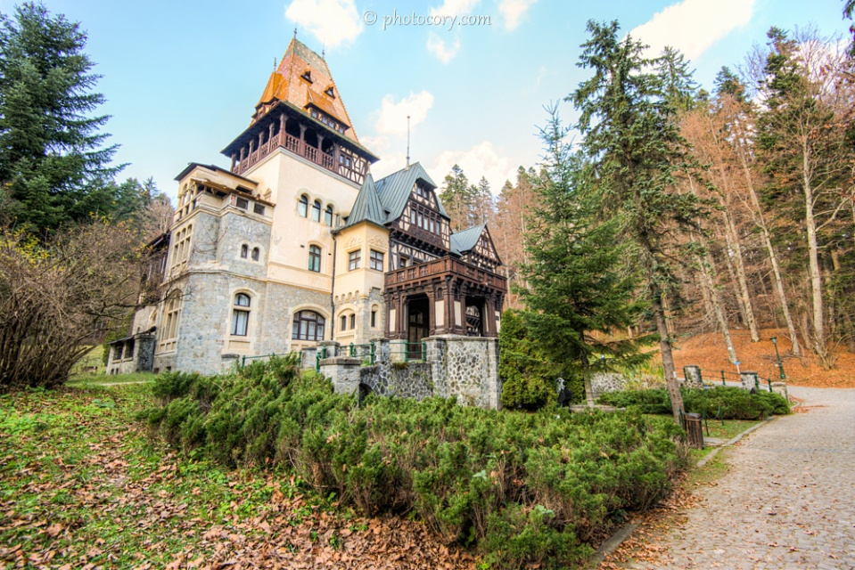 Pelisor Castle in Sinaia