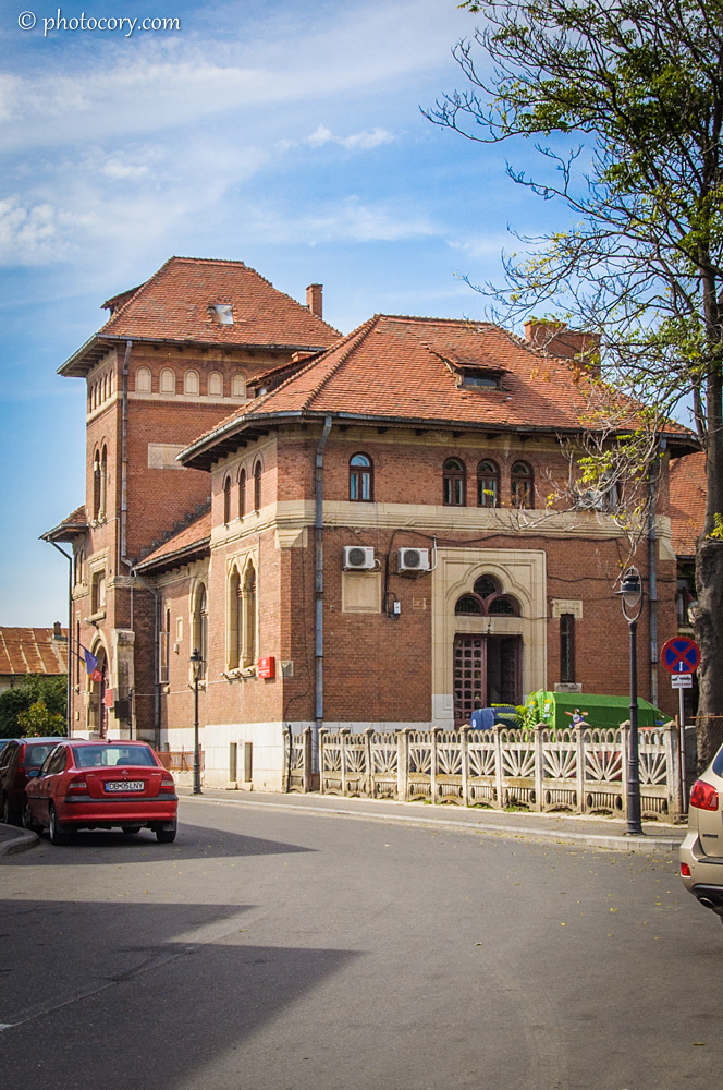 The Old Post Office in the Old Center of Targoviste
