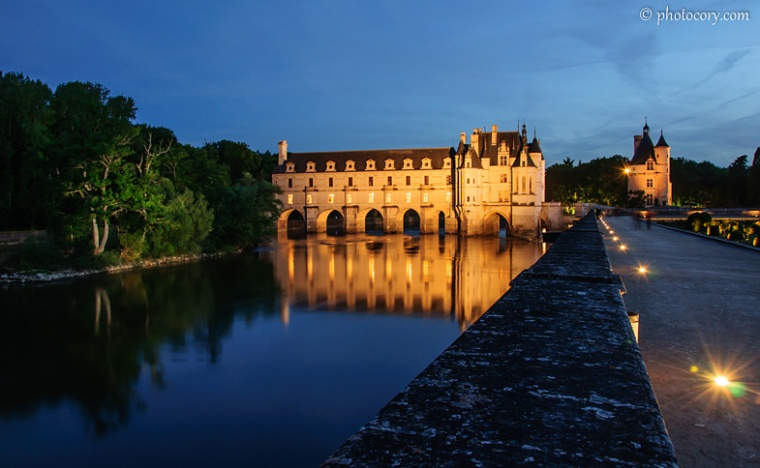 reflection chenonceau river cher