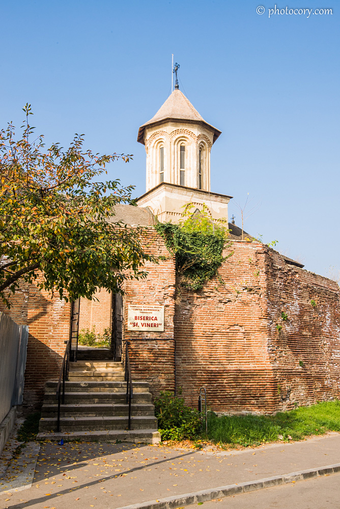 St. Friday Church in The Royal Court of Targoviste