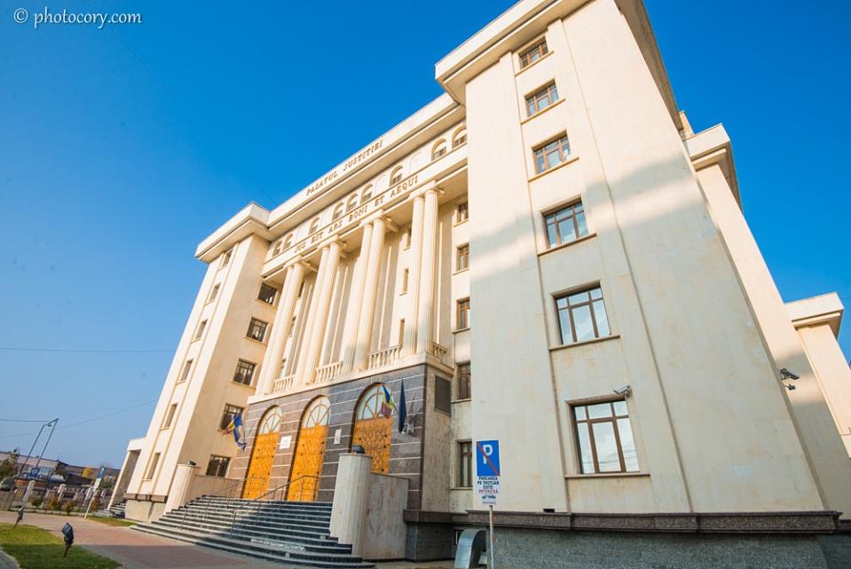 The new courthouse in Targoviste