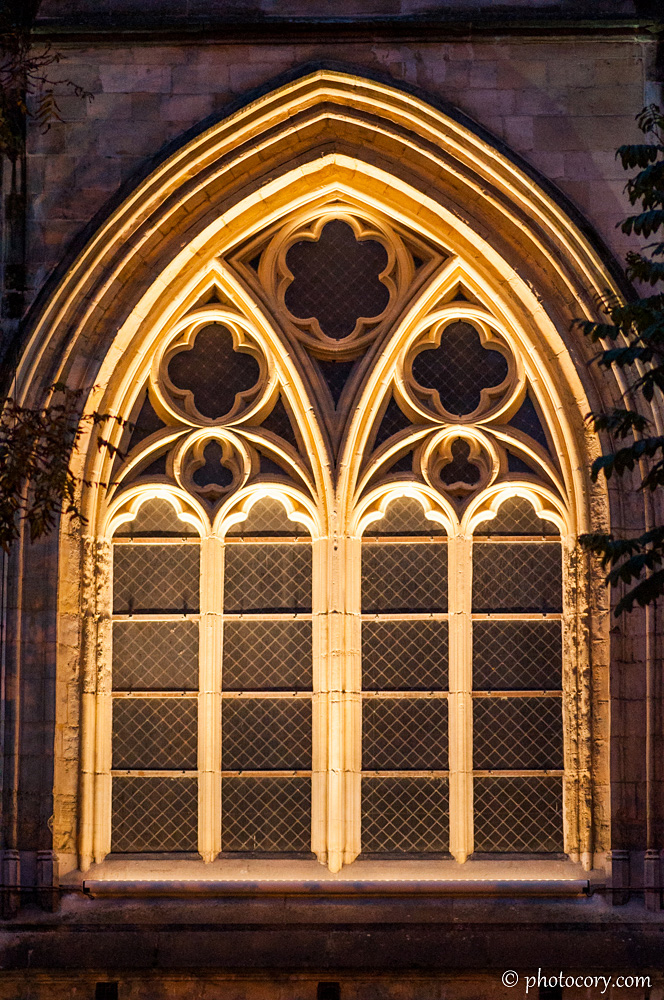 Window at St. Quentin's Cathedral