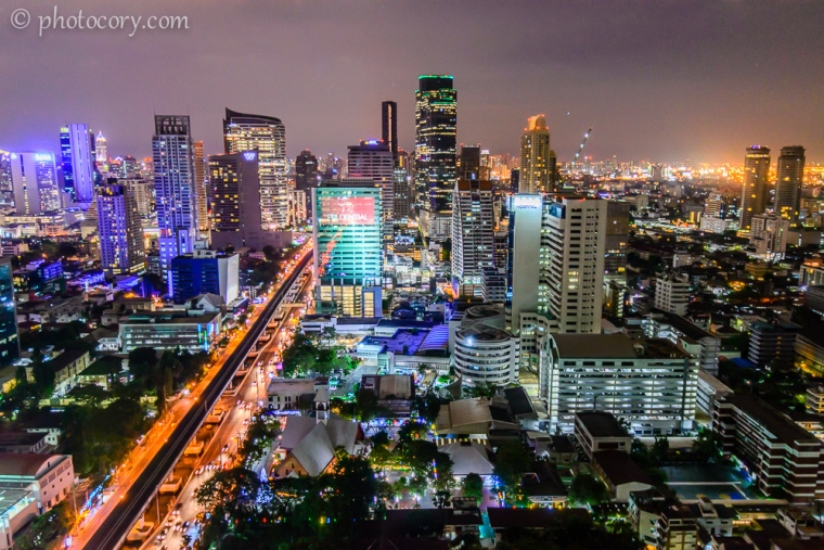 Bright and colorful Bangkok