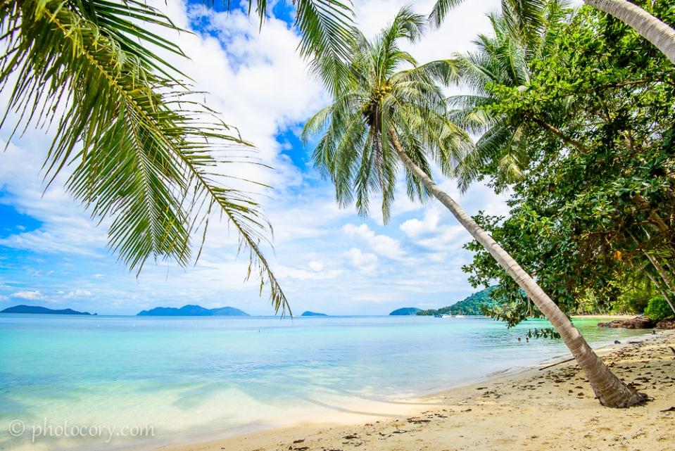beach koh wai island